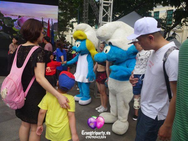 cho mascot su kien