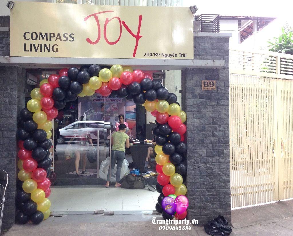 cong bong bong khai truong