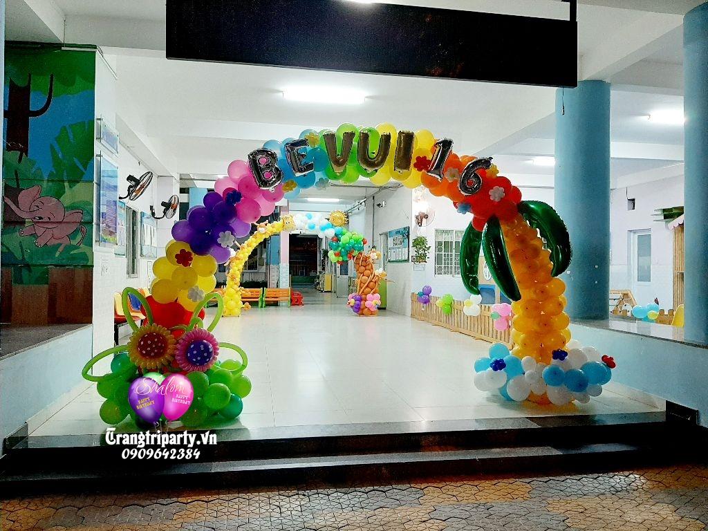 shop trang tri bong bóng tại tphcm