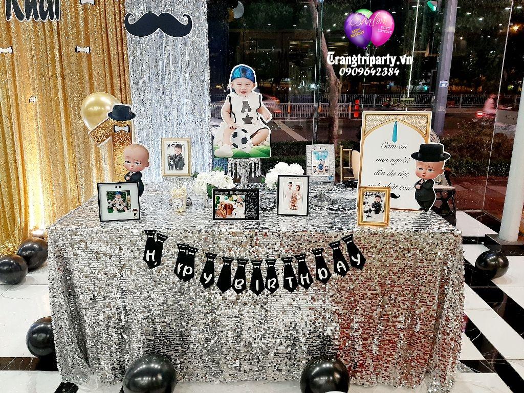 trang trí bàn gallery sinh nhật